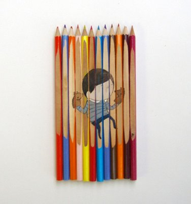 Art of colored pencils