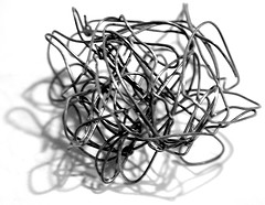 Wire scribble by posi disposal