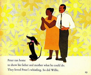 They loved peter's whistling