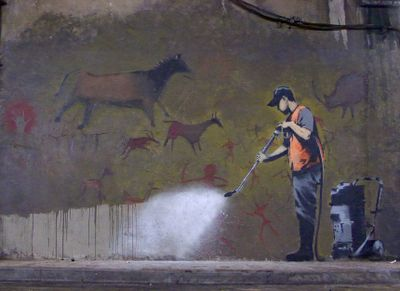 Cansbuffer by banksy