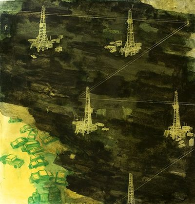 Newwork-oilfield by mona marshall